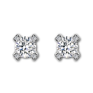 Cornerstones™ Pavé Stud Earrings