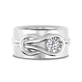 Encordia® Solitaire Band Ring