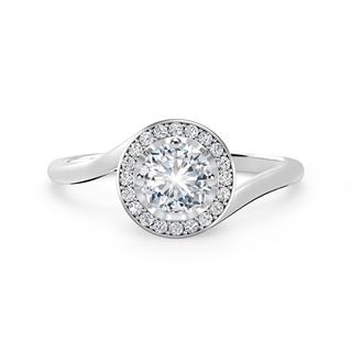 Endlea™ Plain Halo Ring