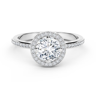 Forevermark Setting® Circlet Pavé Ring
