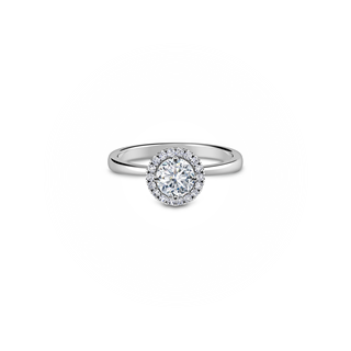 Swan Solitaire Ring